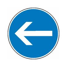 Verkehrsschild - Betriebskennzeichnung - Richtungshinweis (Pfeil)