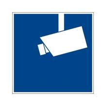 Video Infozeichen - DIN - Symbol: Hinweis Videoüberwachung