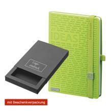 """Luxus-Notizbuch Lanybook """"IDEAS"""" mit Werbeanbringung"""
