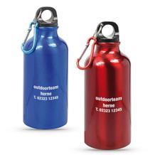 "Trinkflasche ""TOUR"" aus Aluminium"