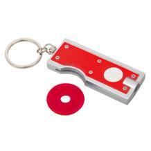 """Schlüsselanhänger """"TRIPLE"""" mit EK-Chip seitlich"""