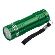 """LED Taschenlampe """"MILDRED"""" aus Metall mit Schlaufe"""
