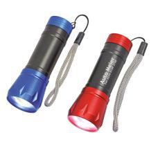 LED-Taschenlampe mit Teleskop-Funktion
