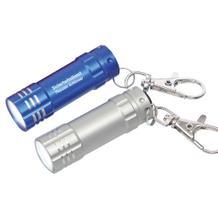 """LED-Taschenlampe """"SUN"""" mit Karabinerhaken"""