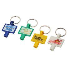 Schlüsselanhänger mit Heizkörper-Entlüfter
