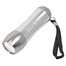 """LED-Taschenlampe """"LEO"""" aus Aluminium"""