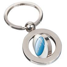 """Schlüsselanhänger """"TWISTER"""" mit Epoxy-Sticker"""