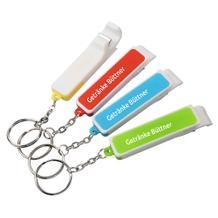 """Schlüsselanhänger """"3 in 1"""" mit Flaschenöffner und Smartphonehalter"""