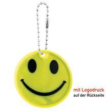 """Reflex-Schlüsselanhänger """"SMILEY"""""""