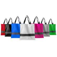 Einkaufstasche - Reflektionsstreifen - in 7 Farben