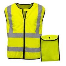 Warnweste - für Motorrad- & Zweiradfahrer - inklusiv Tasche
