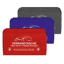 Kraftwagen-Verbandtasche - mit Klett - 3 Farben