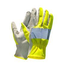 Handschuhe - Reflektierend - Handinnenfläche Wildleder