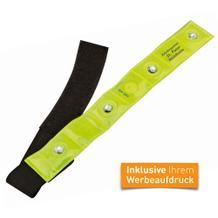 Sicherheits-Armband mit LED-Licht, inkl. Werbeanbringung