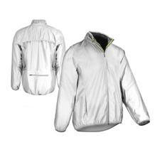 Windjacke - reflektierend - Zip-Tasche