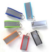 Filz-Schlüsselanhänger - Reflektierend - 7 Farben