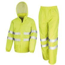 Arbeitsanzug - 3 in 1 (Jacke, Hose, Tasche) - Wasserdicht - Reflektierend