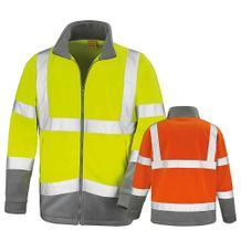 Microfleece-Sicherheitsjacke - Reflektierend