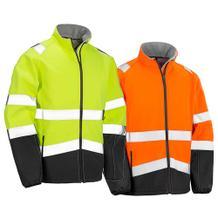 Sicherheits-Softshell-Jacke - Reflektierend
