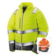Sicherheitsjacke - Gesteppt - für Herren - Reflektierend