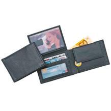 Mini-Geldbörse aus echtem Leder