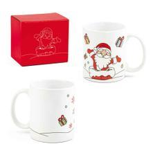 """Weihnachtliche Tasse """"NIKOLAUS"""" aus Keramik"""