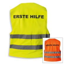 Qualitäts Warnweste - ERSTE HILFE