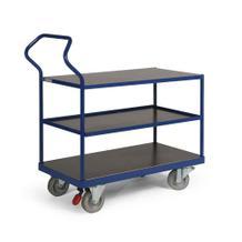 Ergotruck-Tischwagen - 3 Ladefächen - in 4 Größen