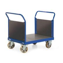 Schwerlast-Plattformwagen mit 2 Stirnwänden - 4 Größen - Traglast 2200 kg