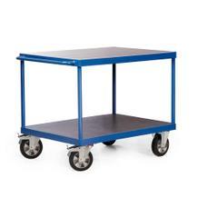 Tischwagen - Traglast 1200 kg - 2 oder 3 Ladeflächen - 1000 x 700 mm