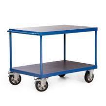 Tischwagen - Traglast 1200 kg - 2 oder 3 Ladeflächen - 1600 x 800 mm