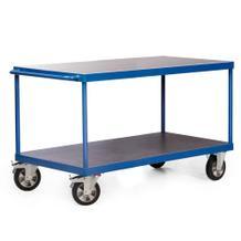 Tischwagen - Traglast 1200 kg - 2 oder 3 Ladeflächen - 2000 x 800 mm