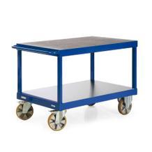 Schwerlast-Tischwagen - Traglast 2200 kg - 1600 x 800 mm - 2 und 3 Ladeflächen