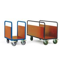 Plattformwagen bodenschonend - 4 Größen - 2 Seitenwände aus Holz