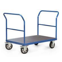 Plattformwagen mit 2 Schiebebügel - 4 Größen - Traglast 1200 kg