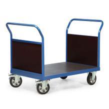 Plattformwagen mit 2 Stirnwänden - 4 Größen - Traglast 1200 kg