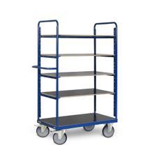 Etagenwagen - 5 Ladeflächen - Gesamthöhe 1800 mm - in 3 Größen