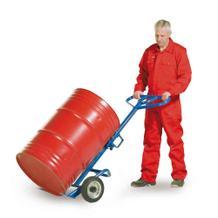 Fasskarre für alle 200-Liter-Fässer - Standard - Bereifung Vollgummi- oder Lufträder