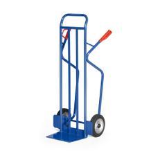 Stahlrohr-Stapelkarre mit Vollgummibereifung - 350 kg Traglast