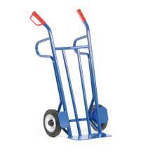 Stahlrohr-Sackkarre Vollgummi mit Rollenlager - 500 kg Traglast