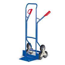 Treppenkarre mit Dreistern-Treppenrad - 300 kg Traglast - Vollgummi-Bereifung