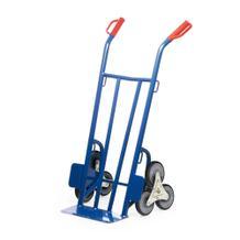 Schwere Treppenkarre - 300 kg Traglast - Vollgummi-Bereifung