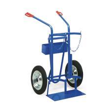 Stahlflaschenwagen mit Vollgummi- oder Luftbereifung mit Zubehör