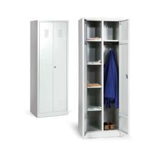 Spind-Kleider-Wäscheschrank - Serie ECO - Mittelwand