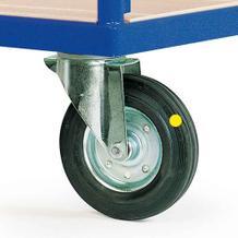 Radausstattung Elektrisch leitfähige Reifen mit Rollenlager als Zubehör