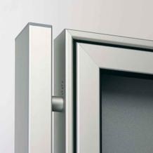 Schaukästen Ständer aus Aluminium - Rechteckrohr
