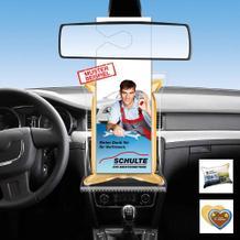 CarKoser® Premium HD - 2in1 Scheibenschwamm mit Hängekarte