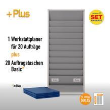 Plantafel-Set für DIN A5 (für 20 Aufträge + 20 Auftragstaschen)