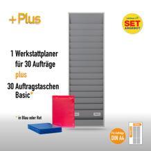 Plantafel-Set für DIN A4 (für 30 Aufträge + 30 Auftragstaschen)