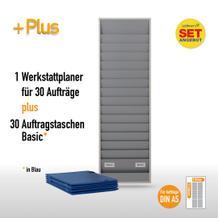 Plantafel-Set für DIN A5 (für 30 Aufträge + 30 Auftragstaschen)